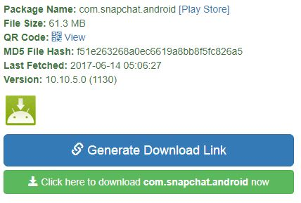Download Snapchat APK file latest version