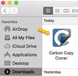 Download free Carbon Copy Cloner for macOS - Mac Informer