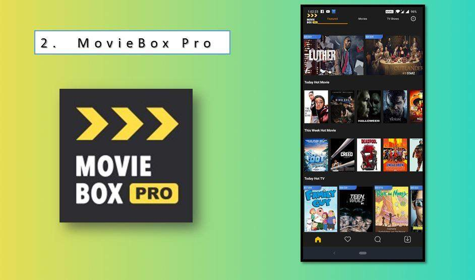 Movie Box Pro Android App